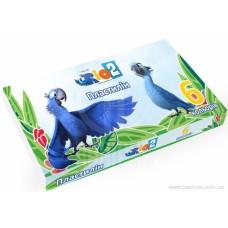 "Пластилин Cool for school ""Rio"", 6 цветов, 120 г, картон"