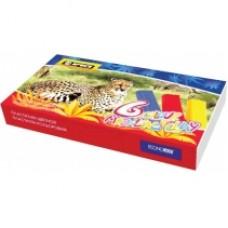 """Пластилин Economix """"Africa"""", 6 цветов, 120г, картон"""