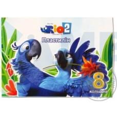 "Пластилин Cool for school ""Rio"", 8 цветов, 160 г, картон"