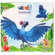 "Пластилин Cool for school ""Rio"", 12 цветов, 240 г, картон"