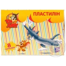 "Пластилин Cool for school ""Tom and Jerry"", 8 цветов, 160 г., картон"