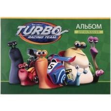 """Альбом для рисования на скобе Cool for school """"Turbo"""", 20 листов"""