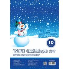 Набор белого картона Cool for school А4, 10 листов