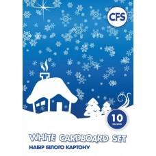Набор белого картона Cool for school А5, 10 листов