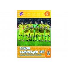 """Набор цветного картона Cool for school """"FFU"""" А4, 10 л."""