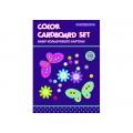 """Набор цветного картона Cool for school """"CFS"""" А5, 10 л."""