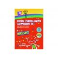"""Набор цветного двустороннего картона Cool for school """"CFS"""" А4, 10 л."""