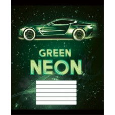 """Тетрадь Мрії збуваються """"Neon"""" 24 листа, клетка"""