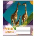 """Тетрадь Мрії збуваються """"Africa"""" 18 листов, линия"""