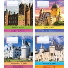 """Тетрадь Мрії збуваються """"Castle"""" 24 листа, клетка"""