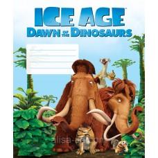 """Тетрадь Cool for school """"Ice Age""""12 листов, клетка"""