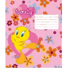 "Тетрадь Cool for school ""Tweety"", 12 листов, линия"