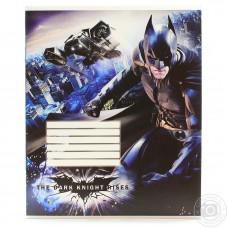 """Тетрадь Cool for school """"Batman"""", 12 листов, клетка"""
