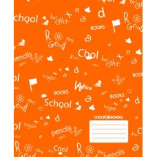 "Тетрадь Cool for school ""CFS"", 12 листов, линия"