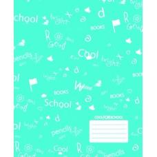 """Тетрадь Cool for school """"CFS"""", 12 листов, косая линия"""