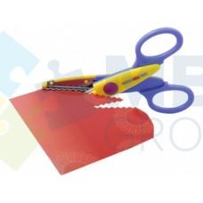 Ножницы детские с фигурными лезвиями для аппликации Cool for school, 13,5 см.