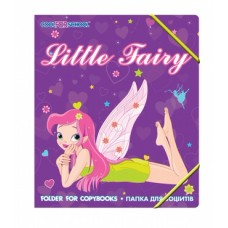 """Папка пластиковая Cool for school """"Little Fairy"""", В5, на резинках"""
