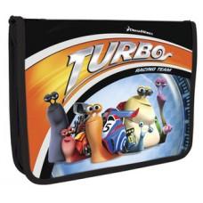"""Папка-пенал пластиковая Cool for school """"Turbo"""", В5, на молнии"""