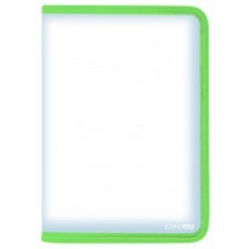 Папка-пенал пластиковая на молнии Economix А4, салатовая