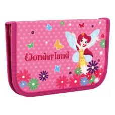 """Пенал твердый Cool for school """"Wonderland"""", с 1 отворотом"""