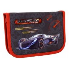 """Пенал твердый Cool for school """"Racing Sport"""", с 2 отворотами"""