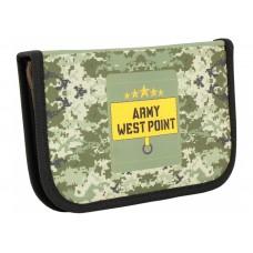 """Пенал твердый Cool for school """"West Point"""", с 2 отворотами"""