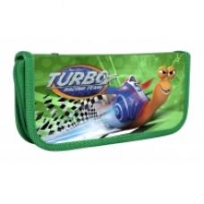"Пенал пластиковый Cool for school на молнии ""Turbo"", А6"