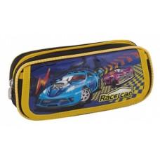 """Пенал мягкий Cool for school """"Race Car"""", прямоугольный"""