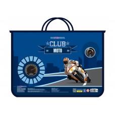 """Портфель пластиковый Cool for school """"Moto Club"""", А4, на молнии"""