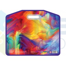 """Портфель пластиковый Cool for school """"Colourful"""", А3, на липучке"""
