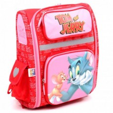 """Ранец школьный каркасный Cool for school """"Tom and Jerry"""", 14,5"""""""