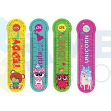 """Закладки пластиковые для книг Cool for school """"Animals"""""""