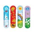 """Закладки пластиковые для книг Cool for school """"Seasons"""""""