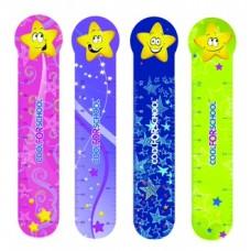 """Закладки пластиковые для книг Cool for school """"Stars"""""""