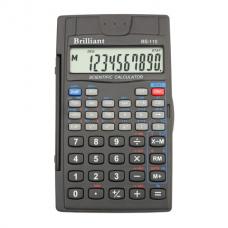 Калькулятор инженерный Brilliant BS-110, 8+2 разрядов, размер 72х120х12мм