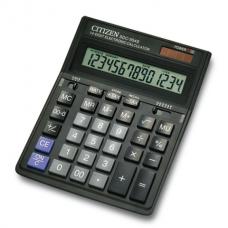 Калькулятор настольный Citizen SDC-554S, 14 разрядов, размер 153х199х30.5мм