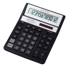 Калькулятор настольный Citizen SDC-888 XBK, 12 разрядов, размер 158х203х31мм