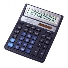 Калькулятор настольный Citizen SDC-888 XBL, 12 разрядов, размер 158х203х31мм
