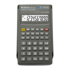 Калькулятор инженерный Brilliant BS-120, 10+2 разрядов, размер 71х134х12мм