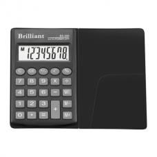 Калькулятор карманный Brilliant BS-200, 8 разрядов, размер 62х98х10мм