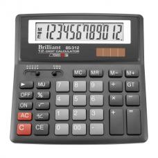 Калькулятор настольный Brilliant BS-312, 12 разрядов, размер 156х157х34мм