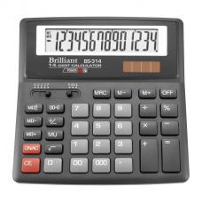 Калькулятор настольный Brilliant BS-314, 14 разрядов, размер 156х157х34мм