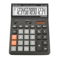 Калькулятор настольный Brilliant BS-414, 14 разрядов, размер 146х197х27мм