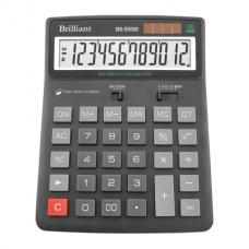 Калькулятор настольный Brilliant BS-555, 12 разрядов, размер 155х201х35мм