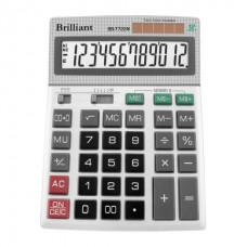 Калькулятор настольный Brilliant BS-7722M, 12 разрядов, размер 151х204х38мм