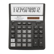 Калькулятор настольный Brilliant BS-777BK, 12 разрядов, размер 157х200х31мм