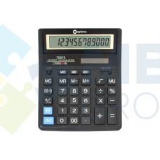 Калькулятор настольный Optima, 12 разрядов, размер 203 х 158 х 30.5 мм