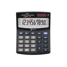 Калькулятор настольный Optima, 10 разрядов, размер 125 х 100 х 27 мм