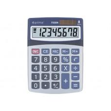 Калькулятор настольный Optima, 8 разрядов, размер 160 х 118 х 41мм