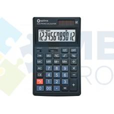 Калькулятор настольный Optima, 12 разрядов, размер 174 х 108 х 27 мм
